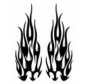 Flames Tattoo Outline  ClipArt Best