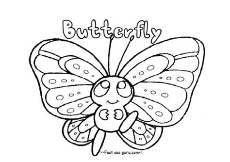 preschool coloring pages butterfly best photos of butterfly coloring pages for preschoolers
