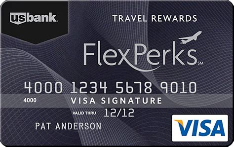 Visa Gift Card Us Bank - u s bank flexperks visa cards