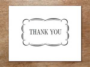 Large 11x17 Thank You Card Template thank you card template flourish