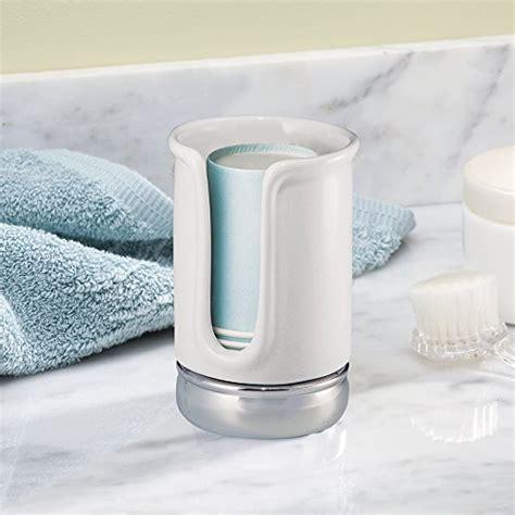 bathroom paper cup dispenser interdesign york bath collection disposable paper cup