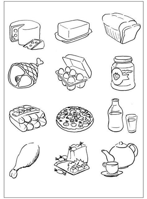 alimenti da colorare 30 sfoglia disegni alimenti da colorare per bambini