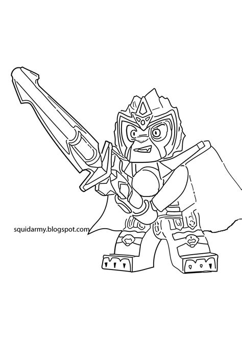 Lego Chima Coloring Page lego chima coloring pages laval the lions squid army