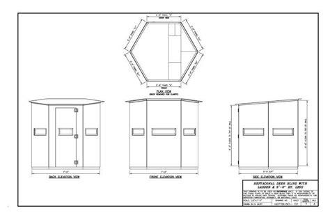 hunt box floor plans box blind plans ljsportscards com