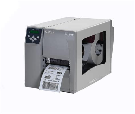Printer Zebra S4m zebra s4m industrial commercial thermal label printer