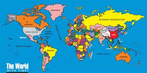Atlas Lebgkap Global maps world map color