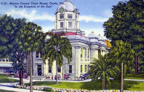 Ocala Court Records Florida Memory Marion County Court House Ocala Florida