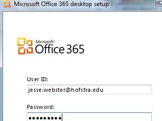 Office 365 Desktop Setup Office 365 Transition Windows Pc Scs Hofstra
