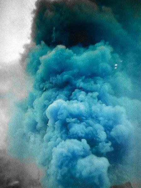 dust cloud chalk moodboard  blue blue blue