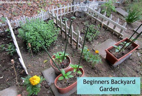 backyard gardening for beginners june 2014 stephanie marchetti sandpaper glue a