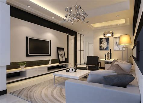 living room tv stand ideas brown fabric curtain