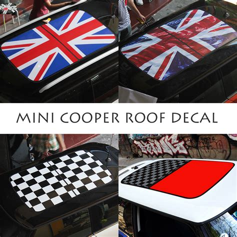 mini cooper decal roof decal creative style sticker car