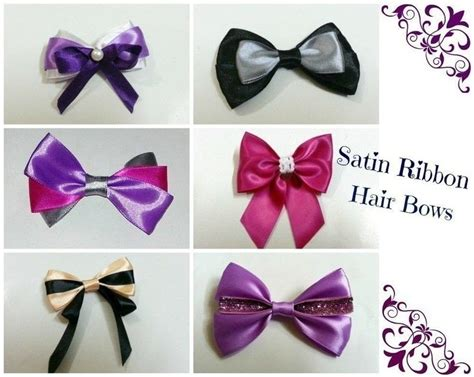 Hair Bow Instructions Project | diy hair bows 3 ribbons 183 how to make a ribbon hair bow