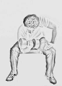 imagenes gif haciendo ejercicio ejercicios para biceps y triceps con imagenes en