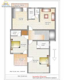floor plan of house duplex house plan and elevation 2310 sq ft indian home decor