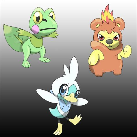 Color Combination by Starters Sugimori Artwork By D Fake On Deviantart