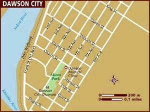 map of dawson city
