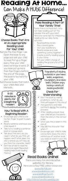 Parent Letter For Reading At Home Parent Communication Ideas On Parent Communicatio