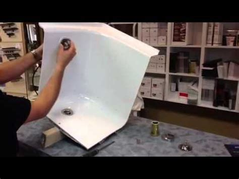 bathtub drain hookup bathtub drain installation youtube
