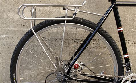 Bicycle Rear Rack by All About Rear Pannier Racks For Bicycle Touring Cyclingabout
