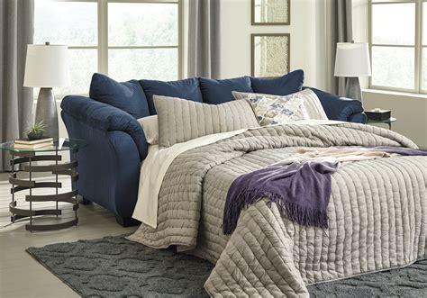 darcy full sofa sleeper darcy blue full sleeper sofa lexington overstock warehouse