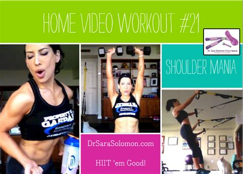 home workout 21 shoulder mania dr solomon