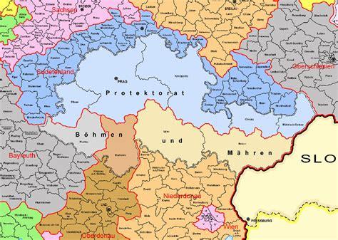 karte deutschland tschechien 1944 verwaltungskarte des deutschen reichs historische