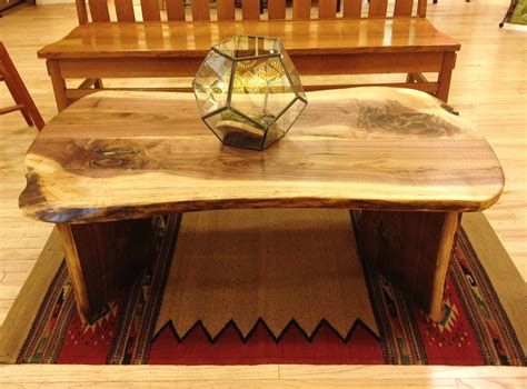 Turquoise Inlay Table by Liveedge Walnut Coffee Table With Turquoise Inlay