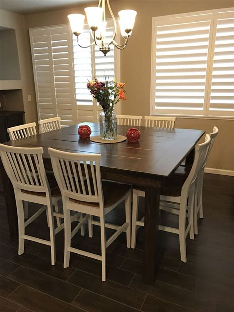 big square dining table best 25 square dining tables ideas on large