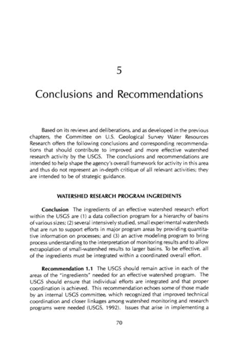 exles of recommendations in a research paper sle conclusion and recommendation for thesis