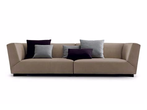 soho couch soho leather sofa by poliform design paolo piva
