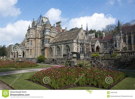 Gothic Revival Home Plans Tyntesfield Manor House Stock Photo Image Of English