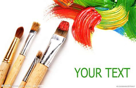 what is a good color to paint a living room 五彩颜料和画笔高清图片素材设计图 背景底纹 底纹边框 设计图库 昵图网nipic com