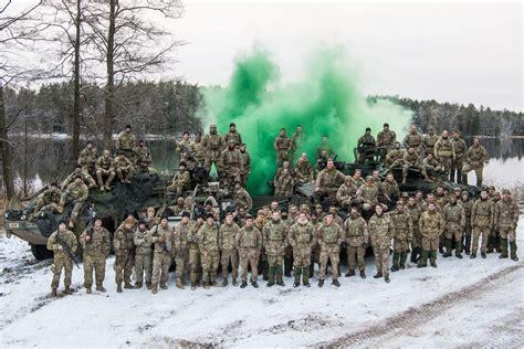 defence secretary wishes troops merry christmas   poland  nato visit govuk