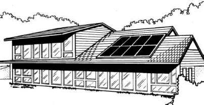 passive solar home design books passive solar home plans south sector