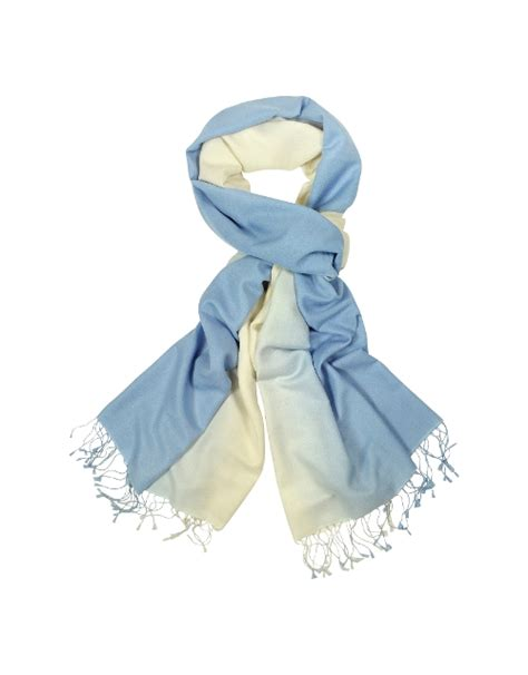 Pashmina Two Tone No 3 celia imrie forzieri two tone silk pashmina scarf from the second best marigold hotel