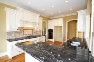 White Kitchen Cabinets With Black Granite Countertops Kimboleeey White Kitchen Cabinets With Granite