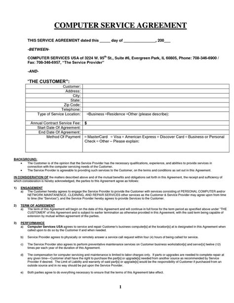 Credit Repair Contract Form 881 best documents images on free