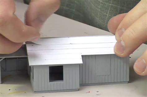How To Make A Paper Roof - how to model a roof with paper
