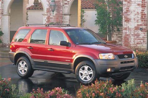 2001 Ford Escape by 2001 04 Ford Escape Consumer Guide Auto