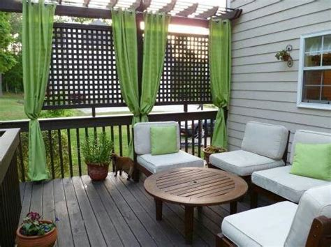 Privacy Porch Ideas pkrch privacy lattice use for our back porch