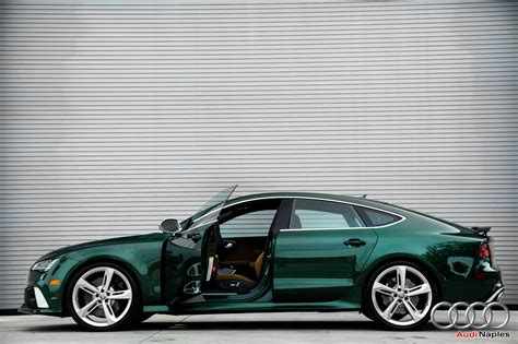2016 Audi RS7 in Verdant Green Looks like a Bentley autoevolution