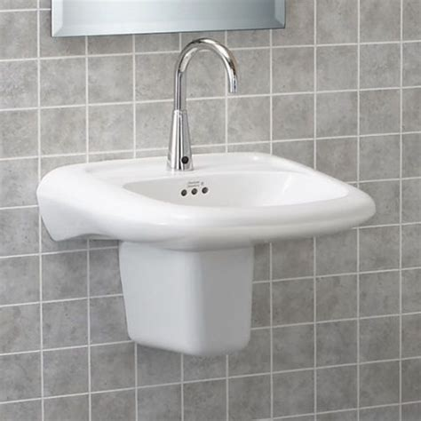 ada wall hung sink view murro universal design everclean wall mounted sink