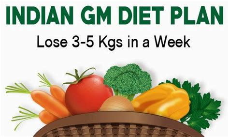 Detox Diet For Weight Loss In India by 25 Best Ideas About Gm Diet On Gm Diet Plans