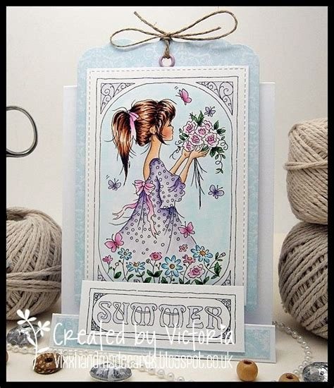 Vixx Handmade Cards - lili of the valley dt post june sneak peek release