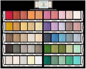 Furniture Paint Colors by Chalk Paint By Heirloom Traditions 50 Colors Pint Quart