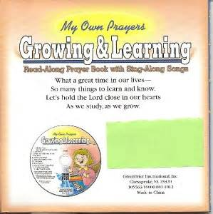 prayers that sing stir the books my own prayers growing and learning bible read and sing