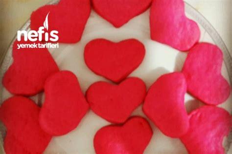 kalp kurabiye pembe kalp kurabiye nefis yemek tarifleri