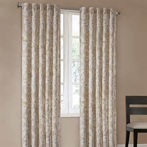 Echo Design Curtains Echo Design Positano Print Window Curtain Panels Bed Bath Beyond