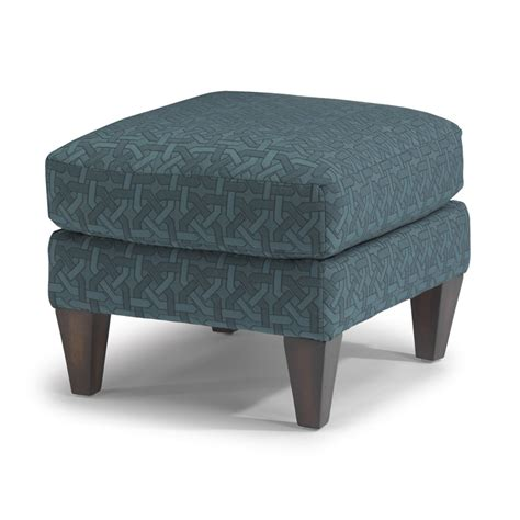 Flexsteel 0410 08 Cute Fabric Ottoman Discount Furniture